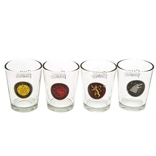 Game Of Thrones Juego de Tronos - Pack oficial de 4 vasos...