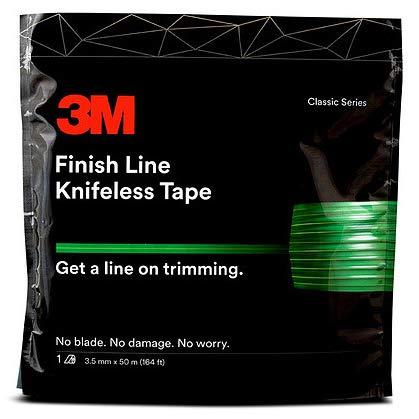 Tape Folie Schneiden messerlos ohne Messer Auto saubere Linien Carwrapping (Finish Line Tape 3 mm x 50 m (G119))