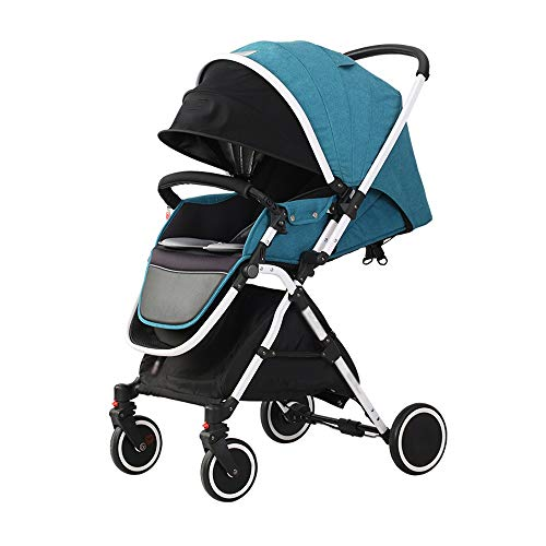Buy Discount Two-Way Baby Stroller 0-3 Years Old Lightweight Folding Shock-Absorbing Sit-Lay Simple ...