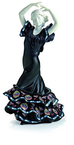 Nadal Pequeña Figura Decorativa sevillana, Resina, Multicolor, 8.60x6.50x15.50 cm