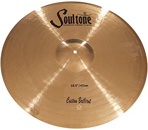 Soultone Cymbals Custom Brilliant, 18,5 Zoll Ride-Becken (CBR-RID18,5 Zoll)