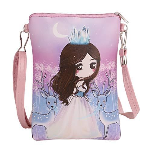 Teens Girls Kids Toddler Cute Cartoon Theme Mini Shoulder Bags Cross Body...