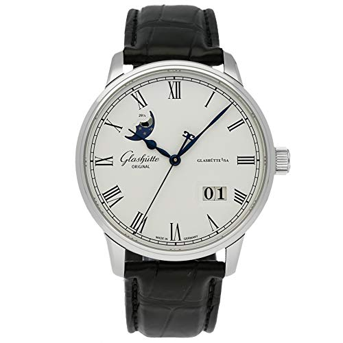 Glashutte Original Senator Mechanical (Automatic) Silver Dial Mens Watch 100-04-32-12-04 (Certified Pre-Owned)