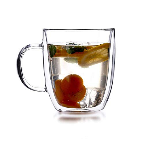 Buy Sugar Pot For Coffee and Tea Coffee Cup, Double Insulated Glass, Drinking Coffee Cup, Creative T...