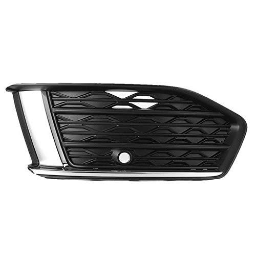 YRRC-ZT Barbacoa, Niebla de Coche Luz Grill 4kd807647 Frontal de la lámpara de Niebla de Spruce Frame Ajuste para Audi A6 C8 2019 2020 Carstyling,Right