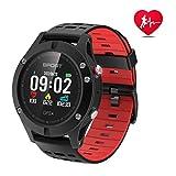 Smart Watch,Sports Watch Altimeter/Barometer/Thermometer Built-in GPS, Fitness Tracker Running,Hiking Climbing,IP67 Waterproof Heart Rate Monitor Digital Watch for Men, Women,Adventurer