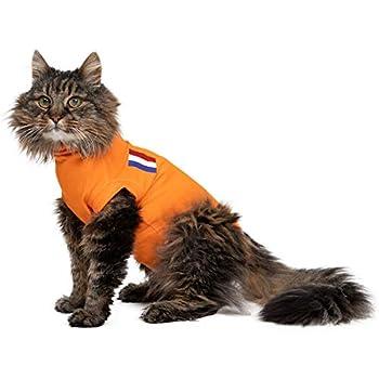 MPS Medical Pet Shirt, Orange, für Extra Kleine Katzen