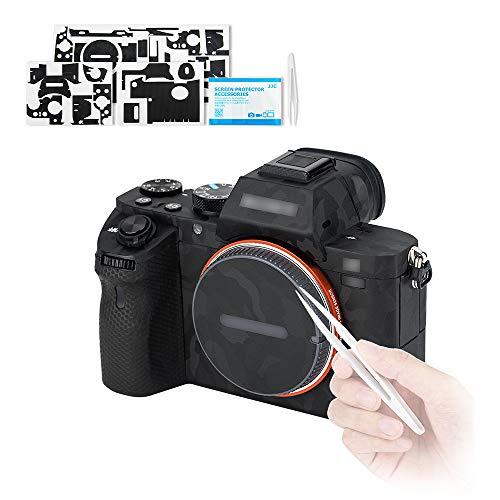 Kiwifotos Adhesivo antiarañazos para cámara Sony Alpha A7 II A7R II A7S II / A7II A7RII A7SII