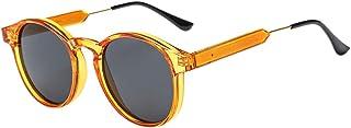 BOZEVON Small Round Sunglasses for Women Men - Vintage Shades Fashion Retro Eyewear UV400