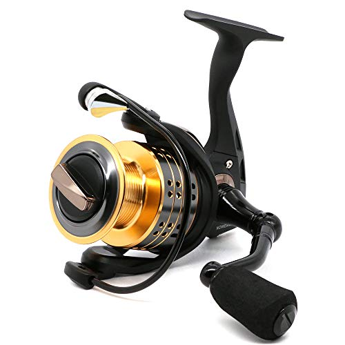 ANGRYFISH 8+1BB Collapsible Spinning Fishing Reel with 5.2:1 Gear Ratio Anti-Reverse Right/Left Handle Fishing Reel for Saltwater or Freshwater(X3000)