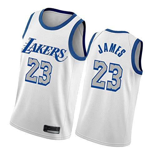 FGRGH No.23 LèBróń Jámès Jersey para hombres y mujeres jóvenes, 2021 Nueva temporada Lákèr - Camiseta de baloncesto para hombre, edición de la ciudad