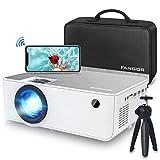 1080P HD Projector, WiFi Projector Bluetooth Projector, Fangor 5500 Lumen 230' Portable Movie Projector,...
