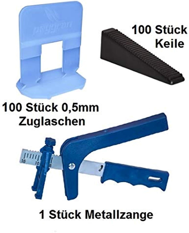 Nivelliersystem 0,5 mm 100 100 100 Laschen 100 keile  Metallzange Peygran Levelling System B07KT5KXLS | Meistverkaufte weltweit  5b8909