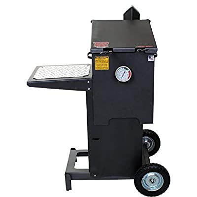 R & V Works Cajun Fryer 4 Gallon Propane Gas Deep Fryer with Stand and 2 Baskets