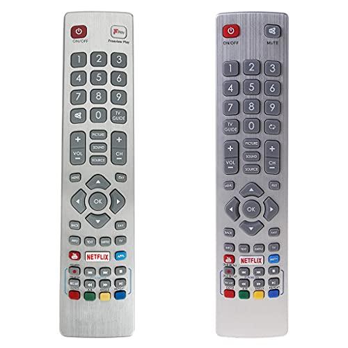 RipengPI Control Remoto GB118WJSA Fit, para Sharp AQUOS TV LC-32HG5141K