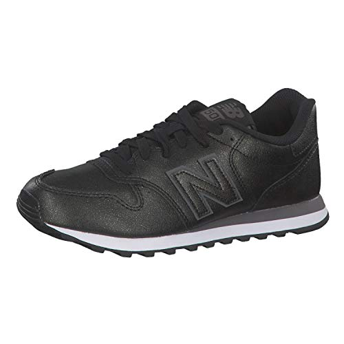 New Balance Damen 500 Sneaker, Schwarz Black Black Black Black, 40 EU