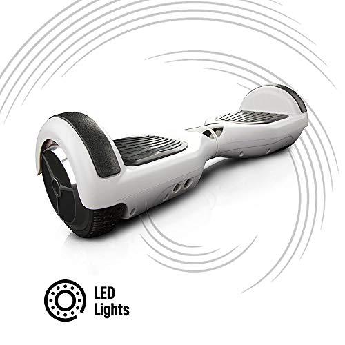"""ACBK Hoverboard 6.5"""" Scooter Elettrico E-Balance Autobilanciato (Nero)"""