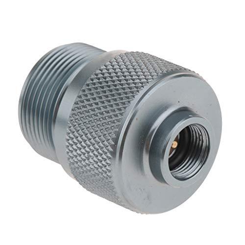 Homyl Adaptateur en Aluminium pour Cylindre de Soupape à Torche de Gaz Propane/MAPP
