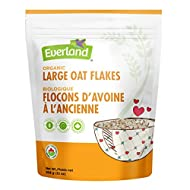 Everland Organic Oat Large Rolled, 907gm
