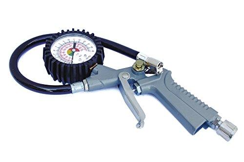 Max-Power Pistola per Gonfiaggio con Manometro
