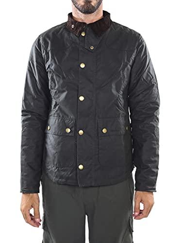 Barbour - Chaqueta - chaqueta - para hombre verde verde oscuro Large