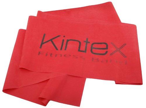 Kintex Fitnessband Rot (mittel), Gymnastik-Band, Wiederstands-Band