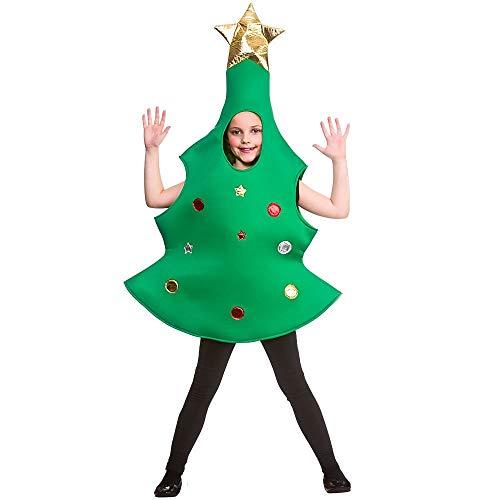 Costumi malvagi Costume per Albero di Natale per Bambini (5-7 Anni)