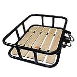 Resul Vorderradgepäckträger Ø 16 mm Stahlrohr mit Fichtenholz