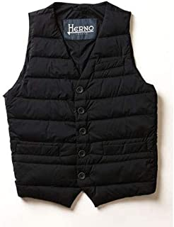 HERNO/ヘルノ シングル ダウンベスト ブラック インナーダウンベスト LEGEND Il Panciotto pi002ule-9300 【並行輸入品】