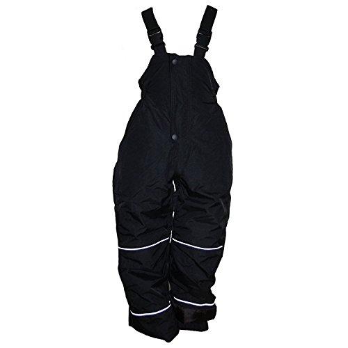 Outburst - Skihose Schneehose Jungen und Mädchen Wasserdicht, schwarz, Größe 86