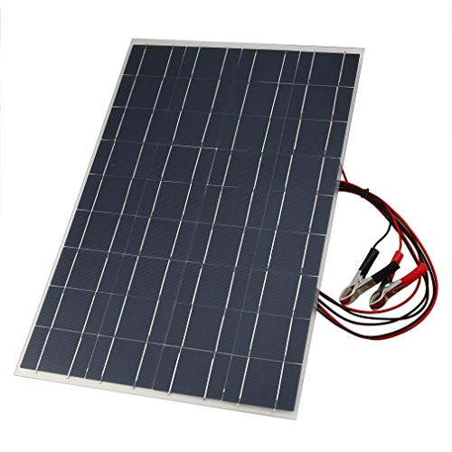 Cargador Solar portátil del Panel Solar del Cargador de la batería Flexible de 18V 30W con el Negro del Clip