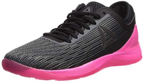 Reebok Women's Crossfit Nano 8.0 Flexweave Workout Joggers, alloy/black/solar pink, 10 M US