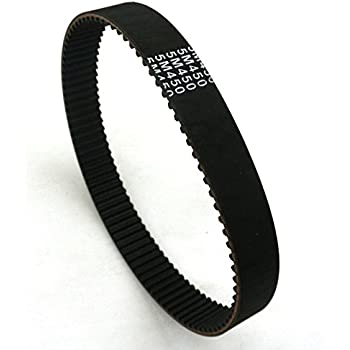 Polyurethane 375 mm Pitch Length 75 Teeth Jason Industrial 16AT5//375 at-5 Metric Pitch Timing Belts 16 mm Wide