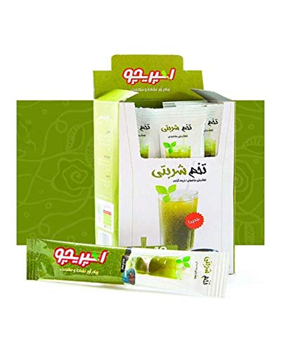 Basil Seed Healthy Drink Weight Loss Digestion Detox Fiber Digestive 12 sachets