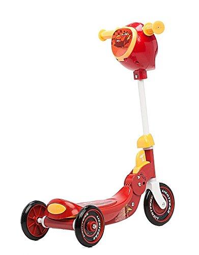 Mondo - 18059 - Vélo et Véhicule pour Enfant - Patinette 3 Roues Pliable - Cars
