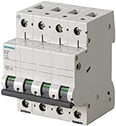 Siemens 5sl6–Interruttore Magnetotermico automatico 400V 6KA 4pol C 25a