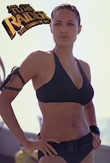 Lara Croft Tomb Raider: The Cradle of Life Movie Poster (27 x 40 Inches - 69cm x 102cm) (2003) Style B -(Angelina Jolie)(Gerard Butler)(Chris Barrie)(Robert Atiko)(Robert Cavanah)(Ciaran Hinds)