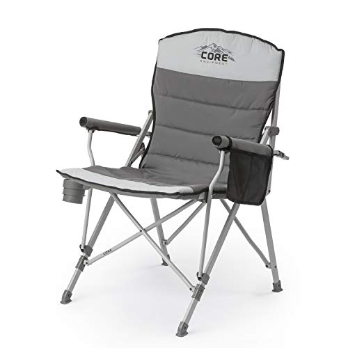 Core 40021 Equipment Folding Padded Hard Arm Chair with...