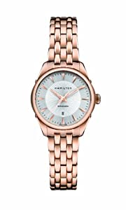 Hamilton H42245151 Watch Jazzmaster Ladies - Silver Dial Stainless Steel Case Automatic Movement image