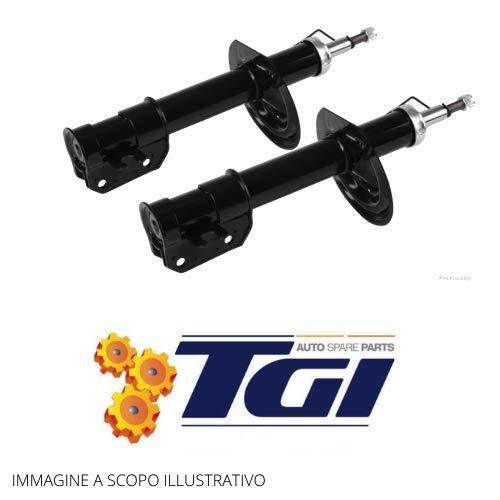 TGI - 2 AMMORTIZZATORI ANTERIORI FIAT PUNTO 188 DAL 1999 AL 2012 DOPPIO TUBO A GAS