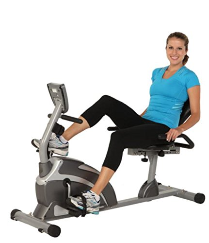 Price comparison product image 900xl Extended Capacity Recumbent Bike with Pulse- Extended Leg Stabilizers to Prevent Any Movement or Tipping When Exercising-(Pack of Two)