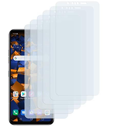 mumbi Schutzfolie kompatibel mit LG G8s ThinQ Folie klar, Displayschutzfolie (6x)