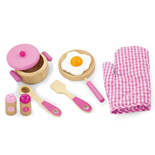 Viga Toys - 50116 -Jeu D'imitation - Ensemble De Cuisine - Princesse