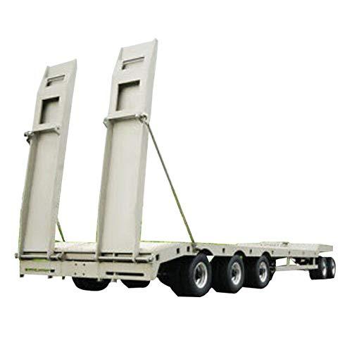 GAOXUQIANG Metall anhänger Platte 887,6 * 190 * 78mm für 1/14 rc LKW Modell Auto th02005