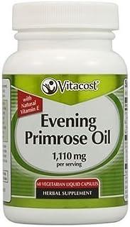 Vitacost Evening Primrose Oil -- 1,110 mg per serving - 60 Vegetarian Liquid Capsules by Vitacost Brand