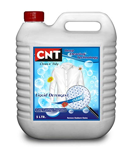 CNT Deep Cleaning Technology Liquid detergent Lemon Grass flavor 5 Liter for front load and top load washing machine