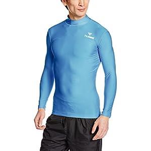 [ヒュンメル] インナー長袖シャツ フィットインナーシャツ メンズ ライトブルー (67) 日本 S (日本サイズS相当)