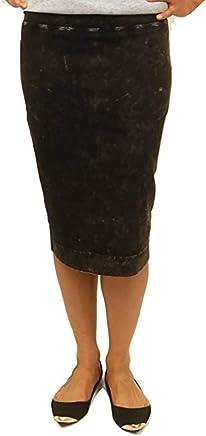d23c025116 Hard Tail Wide Cut Cotton Pencil Skirt W-525