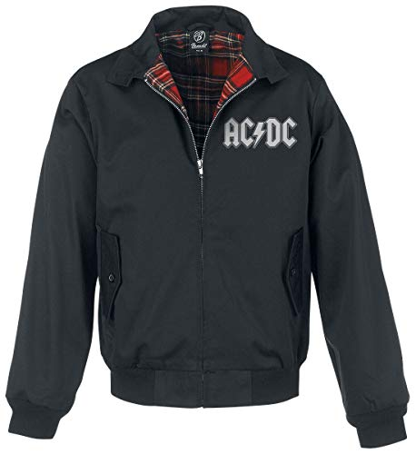 AC/DC Highway To Hell Uomo Giacca Bomber nero S 65% poliestere, 35% cotone