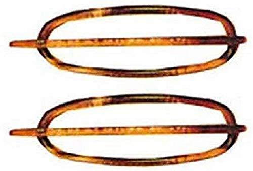 Efalock Acetat-Libellen Havanna 1 Paar 60mm